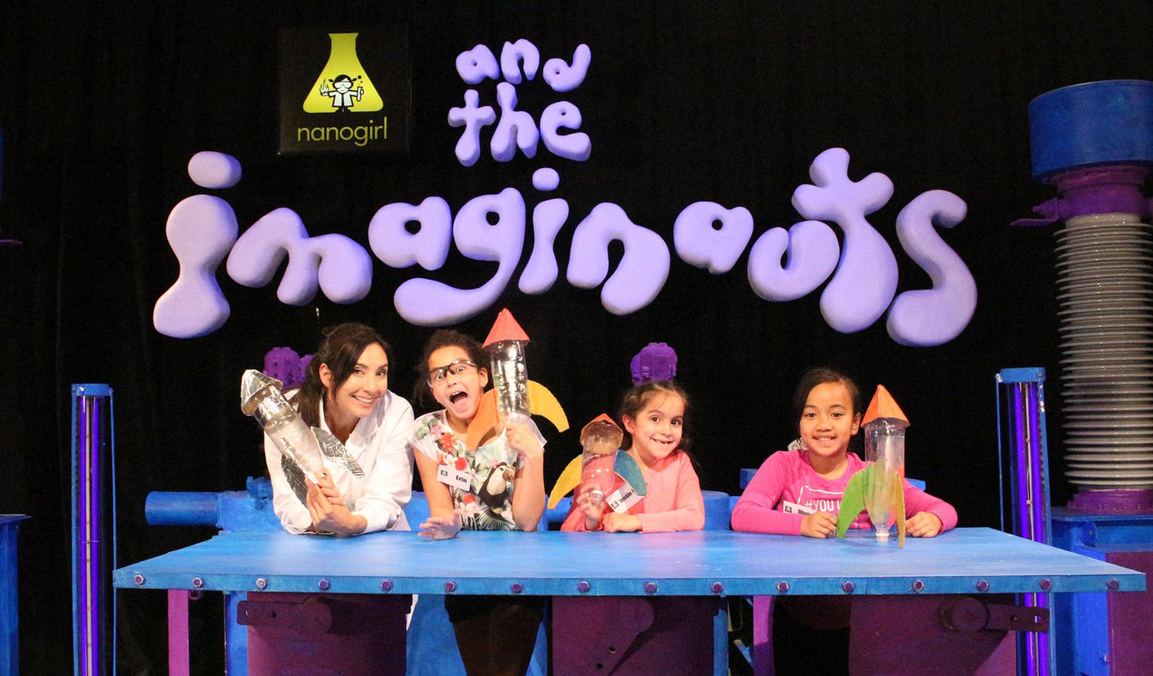 Nanogirl and Imagninauts