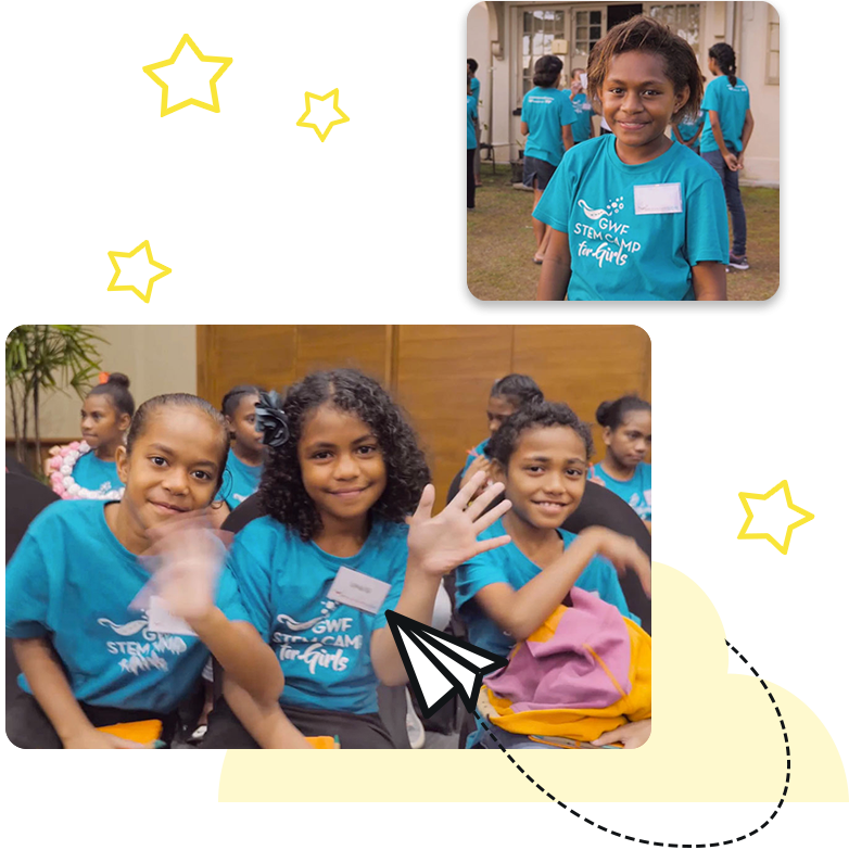 Nanogirl Fiji STEM Camp Participants